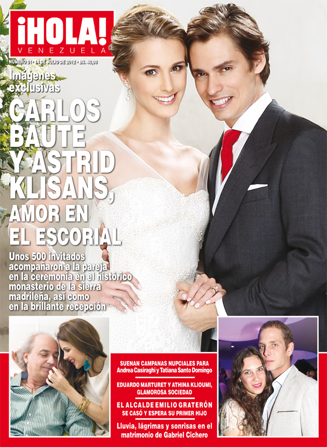 La première couverture de Hola! Venezuela