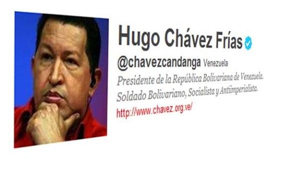 Chavez sur Twitter
