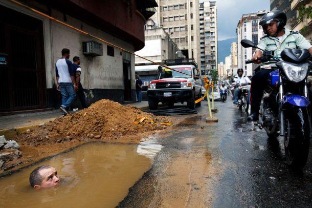 Submergé à Caracas