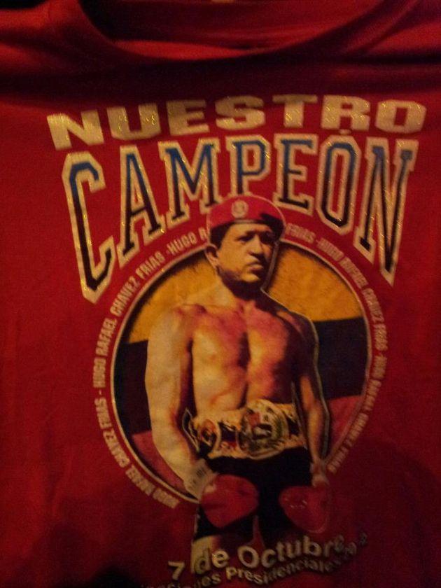 Hugo Chavez boxe