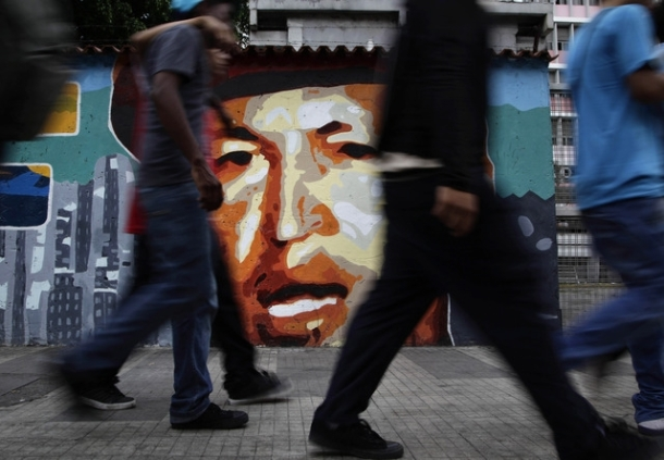Peinture murale de Chávez