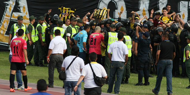 Deportivo Táchira retour au vestiaire