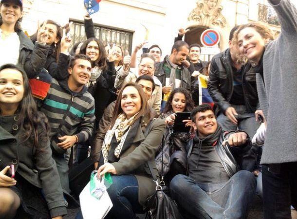 Vénézuéliens en France
