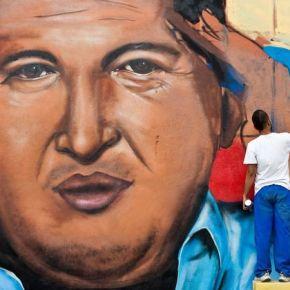 Chávez sur lesmurs