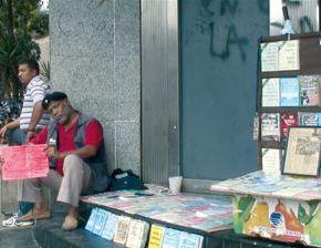 Vendeurs de Constitution àCaracas