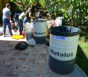 Opération de recyclage à Mérida Venezuela
