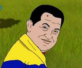 Hugo Chávez auparadis