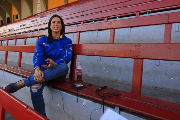 Alejandra Benitez, ministre du sport du Venezuela