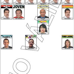 Votez comme unVénézuélien