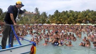 Henrique Capriles à la plage