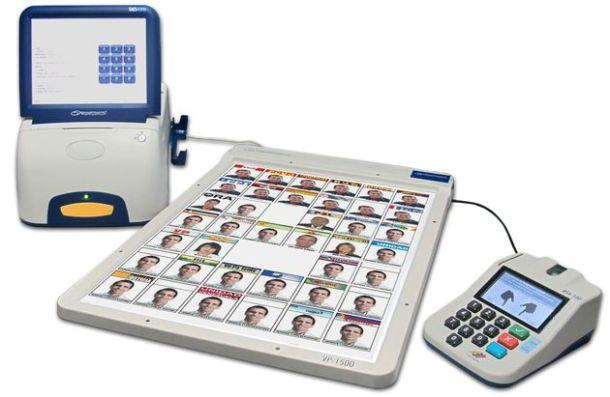 Machine à voter Smartmatic