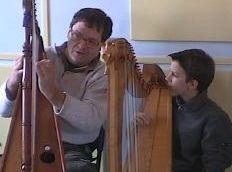 Pascal Coulon enseigne la harpe