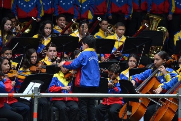 El Sistema de orquestas de Venezuela