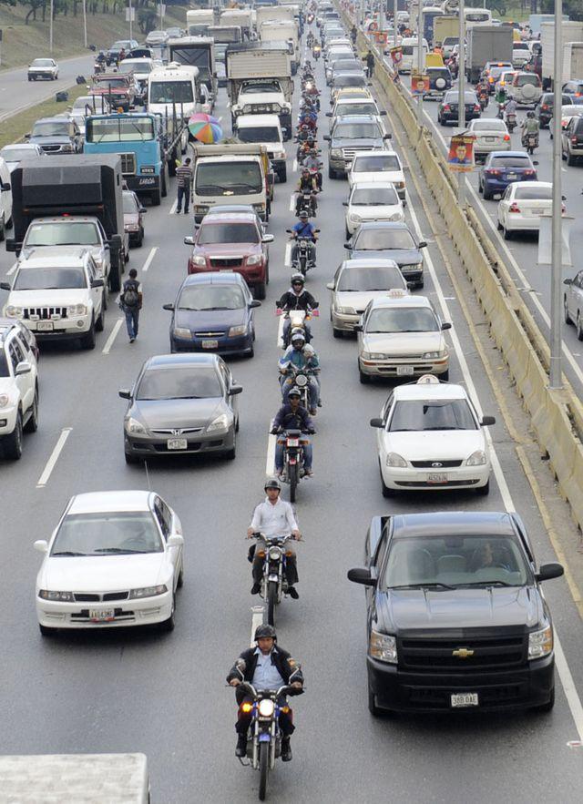 Trafic à Caracas