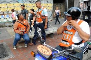 Mototaxis de Caracas