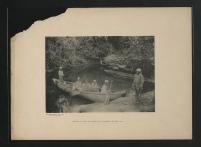 Arrivée des survivants à La Prision, le 23 mai 1901