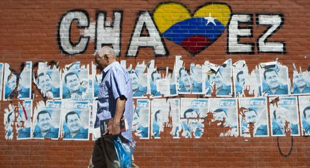 Caracas, ville politisée