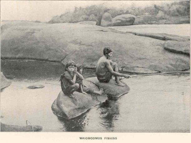 Pêcheurs Waiomgomos