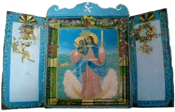 Mucutaray : Le tableau de La Candelaria dans son écrin
